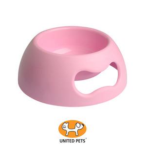 유나이티드펫츠 Pappy독식기 핑크 M